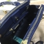 LYN Madison Bag สีน้ำเงิน กระเป๋าถือหรือสะพายทรงสวย รุ่นใหม่ล่าสุด วัสดุหนัง Saffiano thumbnail 4