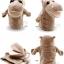 ตุ๊กตาหุ่นมือฮิปโป หัวใหญ่ ขนนุ่มนิ่ม สวมขยับปากได้ thumbnail 4