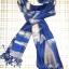 ผ้าพันคอย้อมครามทอมือ Premium Gift *สินค้า Handmade 100% ราคา 490 บาท(Ems +70) Bagshopweb.com thumbnail 12