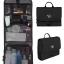 กระเป๋าใส่อุปกรณ์ห้องน้ำ คุณภาพสูง ใส่อุปกรณ์อาบน้ำ แขวนได้ สำหรับเดินทาง ท่องเที่ยว (สีดำ) thumbnail 1