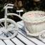 จักรยานพลาสติกประดับ มีตะกร้า thumbnail 4