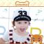 หมวกแก๊ป หมวกเด็กแบบมีปีกด้านหน้า ลาย 33 (มี 5 สี) thumbnail 7
