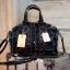 กระเป๋า David Jones กระเป๋าสะพายข้างดีไซน์เกร๋มาก สีดำเงาสวยหรูมาก ขนาดกะลังดีเลย thumbnail 1
