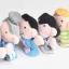 หุ่นนิ้วมือ ชุดครอบครัวสุขสันต์ Set 6 คน แบรนด์ NanaBaby thumbnail 4