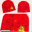 AP205••เซตหมวก+ผ้ากันเปื้อน•• / Camp [สีฟ้า] thumbnail 6