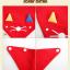เซตหมวก+ผ้าซับน้ำลาย / ลายแมว (มี 5 สี) thumbnail 25