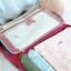 กระเป๋าจัดระเบียบ Travel Luggage Organizer เสียบที่จับของกระเป๋าเดินทางได้ มีช่องใส่สองชั้นกั้นด้วยช่องตาข่าย ผลิตจากโพลีเอสเตอร์กันน้ำ thumbnail 19
