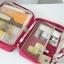 กระเป๋าใส่อุปกรณ์อาบน้ำ คุณภาพดี แขวนได้ สำหรับเดินทาง ท่องเที่ยว พกพาสะดวกมี 4 สี 4 ลายให้เลือก thumbnail 29