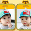 HT369••หมวกเด็ก•• / หมวกแก็ป STAR (สีฟ้า) thumbnail 2