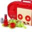 ของเล่นชุดเคาน์เตอร์ครัวมินิ พร้อมอุปกรณ์ทำอาหารสำหรับคุณหนูครบเซต สีแดงสไตล์โมเดิร์น thumbnail 7