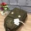 กระเป๋า Anello rucksack nylon day pack back 2017 สี Khakhi ราคา 1,290 บาท Free Ems thumbnail 4
