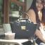 กระเป๋า Amory Leather Mini Lock City Bag Twoto สีดำ thumbnail 3