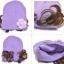 หมวกไหมพรมเด็กเล็ก มีปอยผมแกะสองข้างน่ารัก thumbnail 7