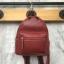 กระเป๋าเป้ Keep Leather Bag Mini Backpack Burgundy ราคา 1,890 บาท Free Ems thumbnail 1