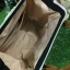 กระเป๋าเป้ Sun earth & U POLYESTER NYLON MINI RUCKSACK 3 ways ด้วยลวดลายสไตล์วินเทจ วัสดุผ้าไนล่อนหนาสลับหนังpu กันน้ำได้ สามารถทำได้3สไตล์ thumbnail 6
