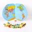ของเล่นจับคู่ แผนที่โลก+ธงประจำชาติ ขนาด 47*29*0.8 cm thumbnail 7