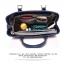 กระเป๋าถือหรือสะพาย แฟชั่น แบรนด์ Duolaimi วัสดุหนังpu อย่างดี พิมพ์ลาย สไตล์ KATE สวยอยู่ทรง ใส่เอกสารได้ thumbnail 9