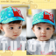 HT369••หมวกเด็ก•• / หมวกแก็ป STAR (สีฟ้า) thumbnail 4