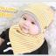 เซตหมวก+ผ้าซับน้ำลาย / ลาย Lovely Baby (มี 6 สี) thumbnail 12