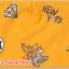 AP226••เซตหมวก+ผ้ากันเปื้อน•• / ดวงตา [สีเหลือง] thumbnail 5