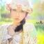 หมวกปีกสาน สไตล์เกาหลี ประดับดอกไม้ผ้าสวยหวานน่ารัก thumbnail 5