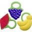ยางกัดซิลิโคนผลไม้ DUOLADUOBU สำหรับเด็กเล็ก BPA-Free thumbnail 1