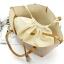 กระเป๋า MNG Shopper bag สีขาวครีม กระเป๋าหนัง เชือกหนังผูกห้วยด้วยพู่เก๋ๆ!! จัดทรงได้ 2 แบบ thumbnail 12