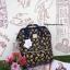 กระเป๋า Anello Cotton canvas collection อีกคอลเลคชั่นที่กำลังนิยมและฮิตฝุดๆในตอนนี้ สีสันลวดลายเป็นเอกลักษณ์เฉพาะ รุ่นนี้เป็นผ้าCottonผสมผลานCanvas thumbnail 1
