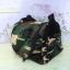 กระเป๋าผ้าขนนุ่ม(ใส่กรงโค้งได้) ลายทหาร thumbnail 4