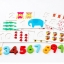 ของเล่นชุดสอนนับเลขไม้สวนสัตว์ Arithmetic Digital Card thumbnail 3