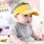 HT126••หมวกเด็ก•• / หมวกไวเซอร์ (เปิดศีรษะ) ม้าลาย [สีเหลือง] thumbnail 4