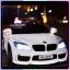 รถแบตเตอรี่เด็ก BMW M6 สีขาว 2 มอเตอร์เปิดประตูได้ มีรีโมท หรือบังคับเองได้ thumbnail 4