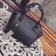 กระเป๋า CHARLES & KEITH TRAPEZE HANDBAG Black thumbnail 3