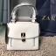 กระเป๋า ZARA MINI CITY BAG กระเป๋าถือ สีขาว พร้อมส่ง ชนชอปอเมริกา thumbnail 18