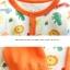 ชุดหมีเด็ก จั๊มสูทแขนยาวขายาว Cuddle me ลายยีราฟสีส้ม สำหรับเด็ก 6-18 เดือน thumbnail 2