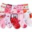 ถุงเท้าเด็กเล็ก หญิง 1-3 ปี มีกันลื่น พิมพ์ลายการ์ตูน แบรนด์ญี่ปุ่น thumbnail 1
