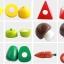 ชุดหั่นผักและผลไม้ จากไม้ธรรมชาติ สำหรับแม่ครัวตัวน้อย thumbnail 4