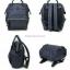 กระเป๋าเป้ Anello polyurethane leather rucksack รุ่น Mini/Classic อีกรุ่นที่กำลังเป็นที่นิยมกันในหมู่วัยรุ่นของประเทศญี่ปุ่นมาแล้วคร้า... ภายในมีช่องเล็ก2ช่อง เปิดปิดด้วยซิปคู่ ปากกระเป๋าเป็นโครงสัดวกต่อการหยิบจับ ด้านข้างมีช่องทั้ง2 thumbnail 8
