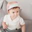 HT152••หมวกเด็ก•• / หมวกแก็ปแมวเหมียว (สีกะปิ) thumbnail 3