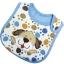 ผ้ากันเปื้อน Carter's ลายเท้าสุนัขสีฟ้า ปักรูปสุนัข thumbnail 1