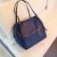 กระเป๋า Amory Leather Everyday Tote Bag สีน้ำเงิน กระเป๋าหนังแท้ทั้งใบ 100% thumbnail 4