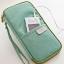 กระเป๋าใส่พาสปอร์ต กระเป๋าใส่หนังสือเดินทาง เอกสารสำคัญ มีสายคล้องมือ พกพาสะดวก ผลิตจากโพลีเอสเตอร์ กันน้ำ คุณภาพดี thumbnail 4