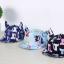 หมวกแก๊ป หมวกเด็กแบบมีปีกด้านหน้า ลายแมวเหมียว (มี 3 สี) thumbnail 3