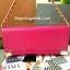 กระเป๋าสตางค์ ยาว สีชมพู แต่งมุม สุดเก๋ ขอบทอง ยี่ห้อ CHARLES & KEITH แท้ รุ่น METAL DETAIL WALLET thumbnail 2