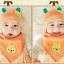 เซตหมวก+ผ้าซับน้ำลาย / ลายหมีน้อย (มี 5 สี) thumbnail 8