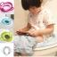 ฝารองนั่งชักโครกเด็ก สีสันสดใส เบาะนั่งสบายบุฟองน้ำ thumbnail 1