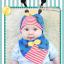 AP098••เซตหมวก+ผ้ากันเปื้อน•• / [สีน้ำเงิน] เต่าทอง thumbnail 2