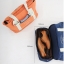กระเป๋าสะพายผ้าแคสวาส เสียบกระเป๋าเดินทางได้ มีช่องใส่สองชั้นบน-ล่าง กระเป๋าเล็กแยก เหมาะมากสำหรับเดินทาง ท่องเที่ยว มี 9 สีให้เลือก thumbnail 23