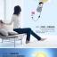 โคมไฟ 3D สติ๊กเกอร์วอลล์เปเปอร์ติดผนัง DIY thumbnail 4
