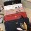 NEW! LYN Long Wallet กระเป๋าสตางค์ใบยาวซิปรอบรุ่นใหม่ล่าสุดวัสดุหนัง Saffiano สวยหรูสไตล์ PRADA ด้านหน้าประดับลายใบไม้ดูมีดีเทล thumbnail 1